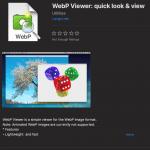 WebP Bilder unter macOS anzeigen