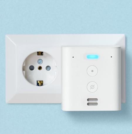 Echo Flex ist ein Smarter Alexa Plug-in Lautsprecher von Amazon