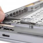 MacBook Pro 16: Tastatur erneut mit Topcase vernietet