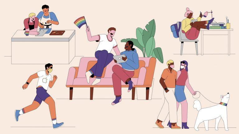 Apple Watch Pride Edition soll LGBTQ Community unterstützen