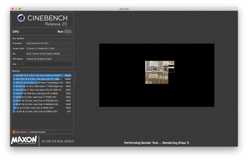 Cinebench Gpu Benchmark