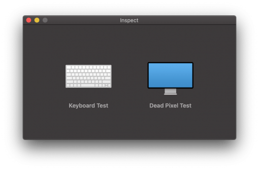 Inspect Mac Test Software