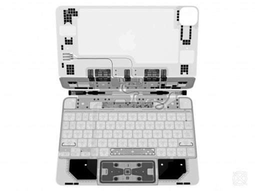 iPad Magic Keyboard X Ray