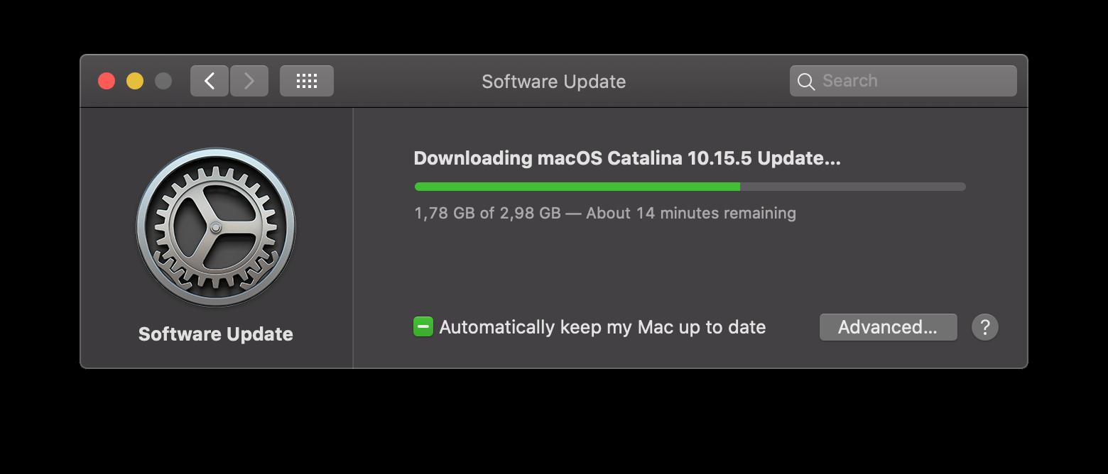 Macos Catalina 10.15.5 Update