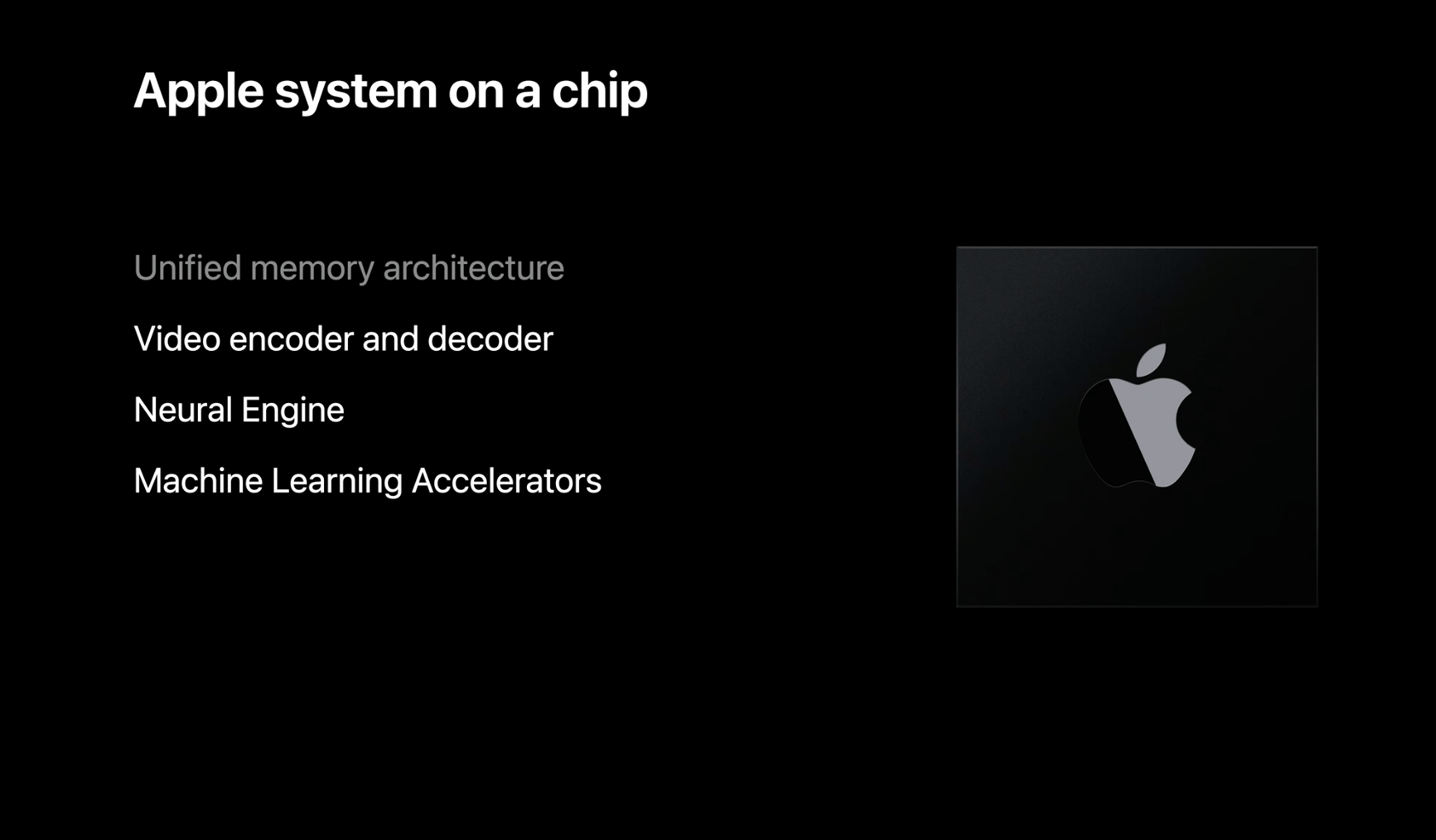 Apple System On A Chip