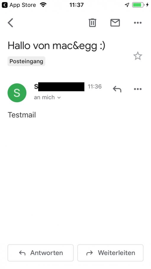Gmail App Ios Testmail
