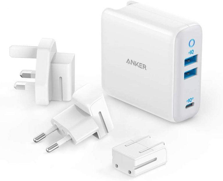 Anker PowerPort III 3-Port USB-C 65 Watt Ladegerät