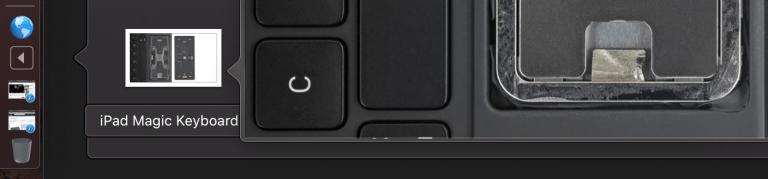 Dateivorschau im Downloadordner des macOS Dock
