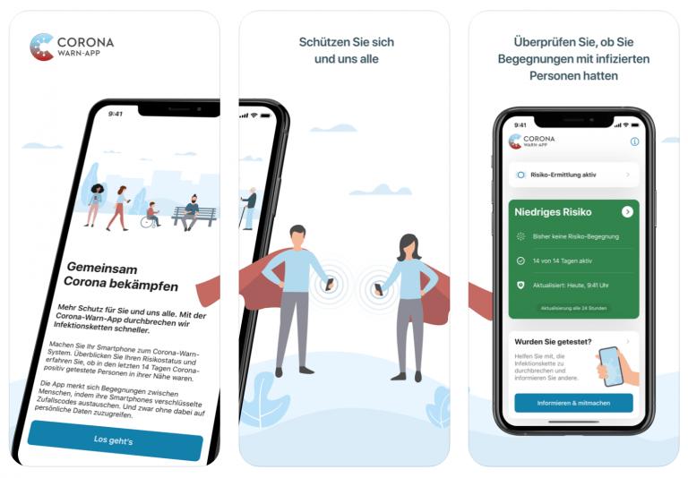 Deutsche Corona-Warn-App jetzt verfügbar