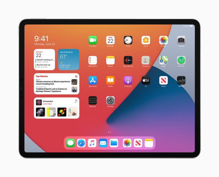 iOS 14 mit großen Widgets, iPadOS 14 mit macOS Struktur