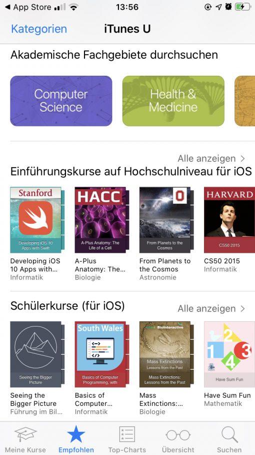Itunes U Ios App