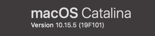 Macos Catalina 10.15.5 Supplemental Update