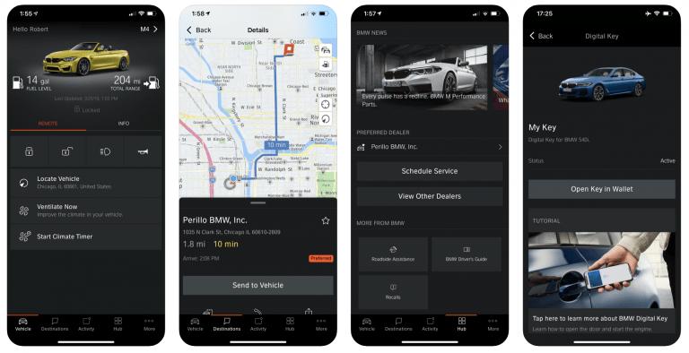 iPhones jetzt an BWWs als Autoschlüssel nutzbar