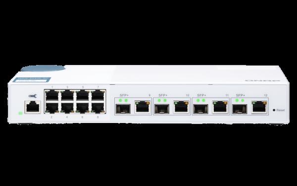 Qnap QSW M408 4C 10 Gbit Switch RJ45 SFP Mac