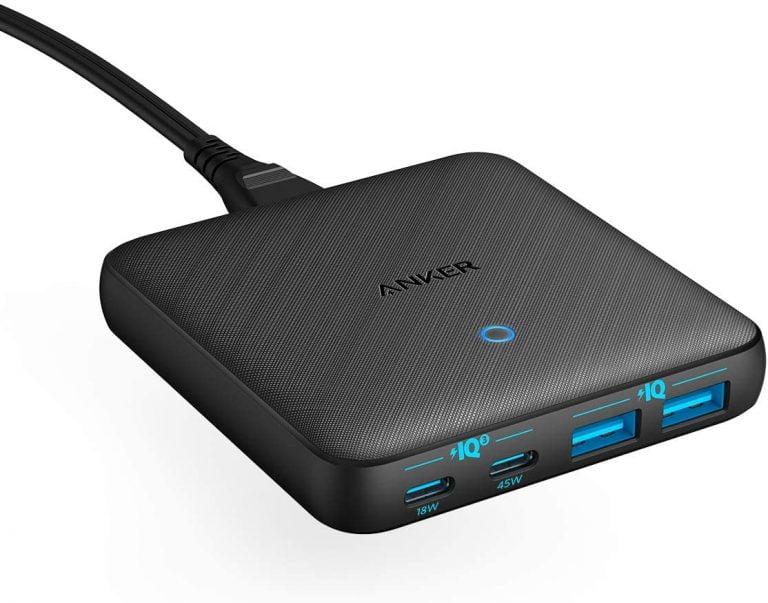 Anker PowerPort Atom III 2x USB-C 63W Ladegerät