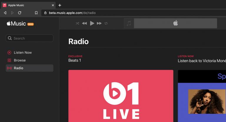 Apple Music Website für den Browser wird überarbeitet