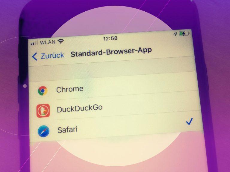 iOS 14: Standardbrowser ändern