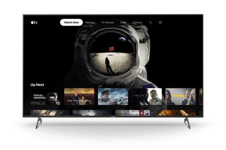 Apple TV App für Sony BRAVIA XH90 Fernseher und andere Modelle