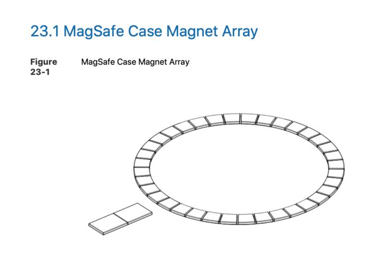 Accessory Design Guidelines für MagSafe Befestigung