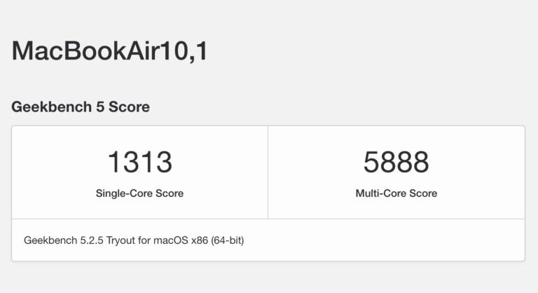 M1 x86 Emulation schneller als nativer Intel Mac