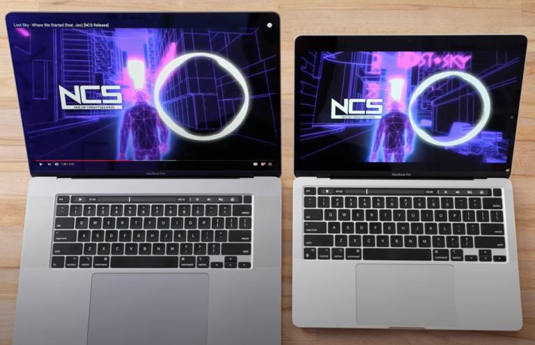 16″ MacBook Pro vs. M1 13″ Pro – David gegen Goliath.