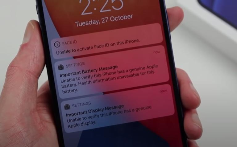 iPhone 12 noch weiter gegen Reparaturen gesperrt