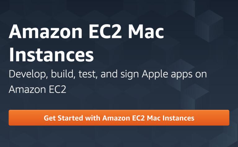 Amazon EC2 Mac Instances auf Mac mini Basis